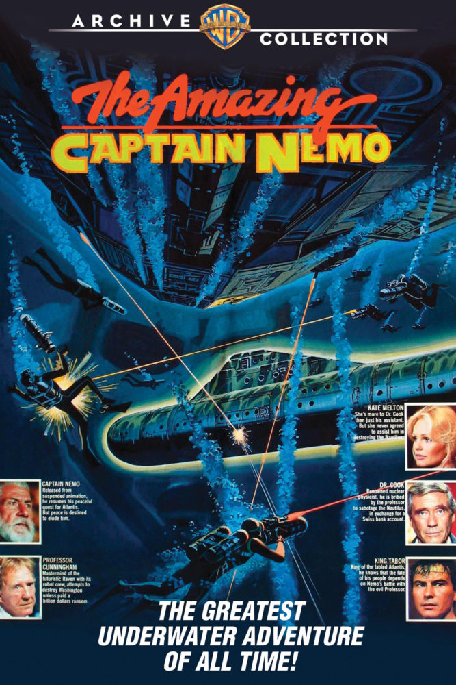 Castle of Horror] 'The Amazing Captain Nemo' Gives Nemo The