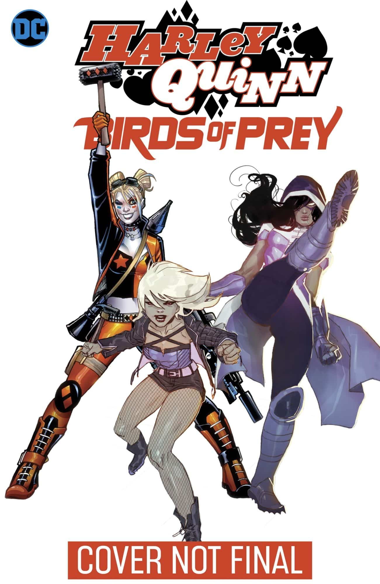 Dc Publish Tie Ins With Birds Of Prey And The Fantabulous Emancipation Of One Harley Quinn