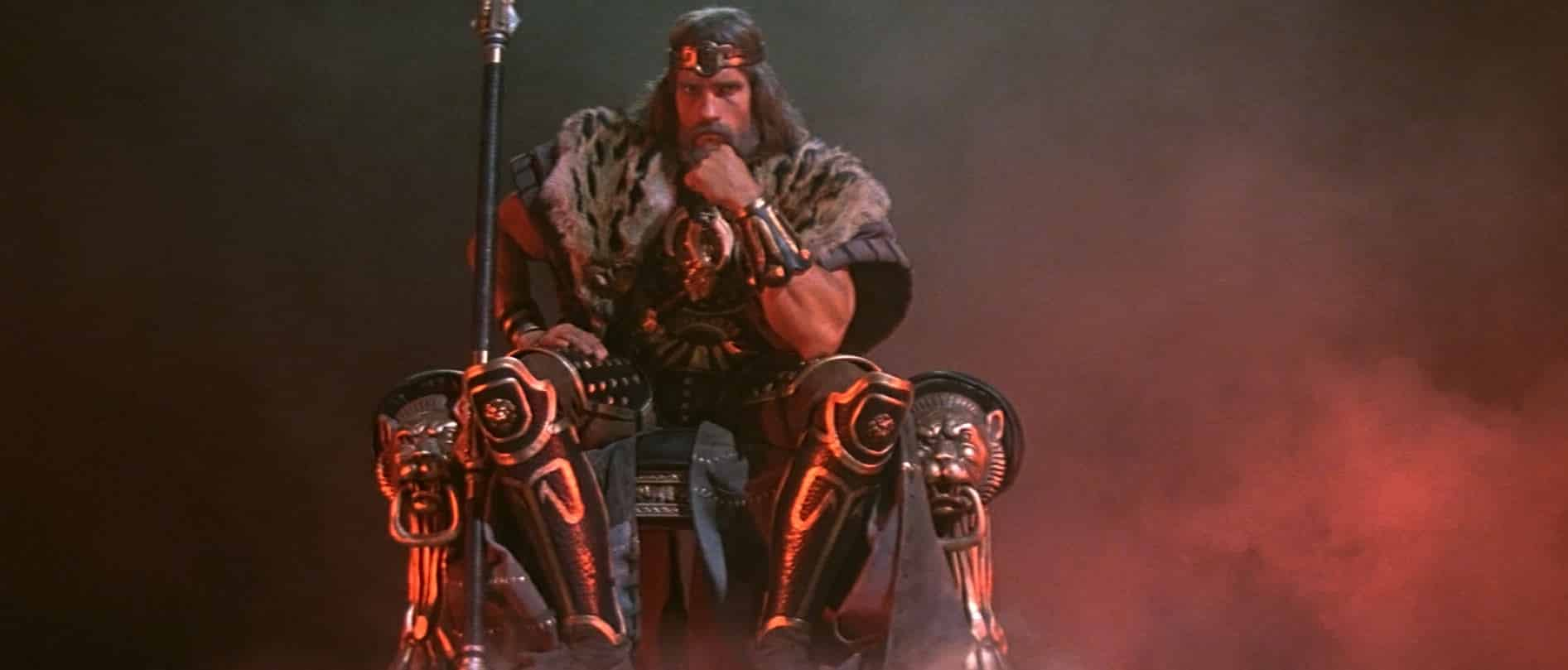 Arnold Schwarzenegger Details the Hold Up on 'King Conan' Project