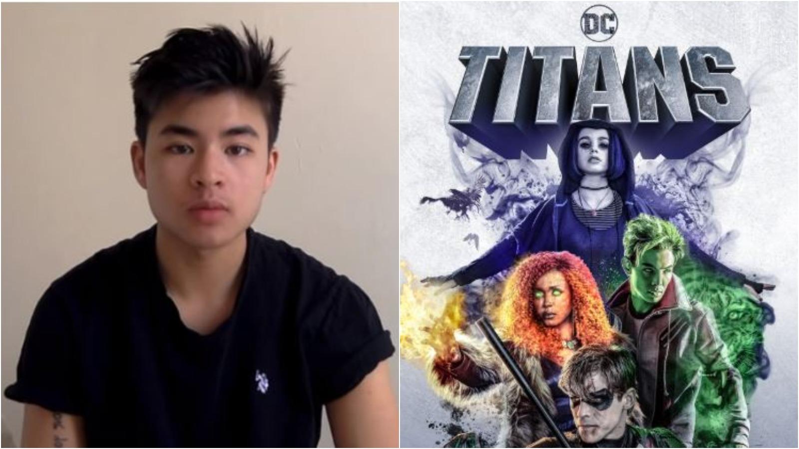 Titans Season 2 Chella Man Cast As Jericho In Dc Universe