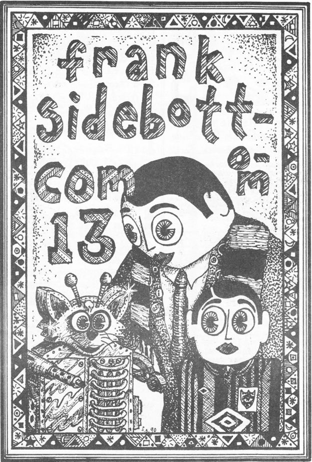 More Secrets From Frank Sidebottom's Cartoons Unearthed By GCHQ?