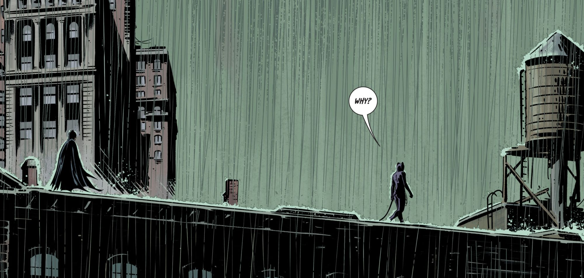 Batman Meets Catwoman Over His Greatest Fear in Batman #69 (Spoilers)