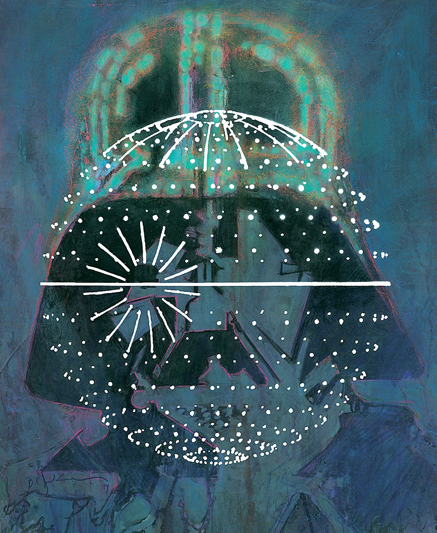 We Need Bill Sienkiewicz's Star Wars Celebration 2019 Leia Piece