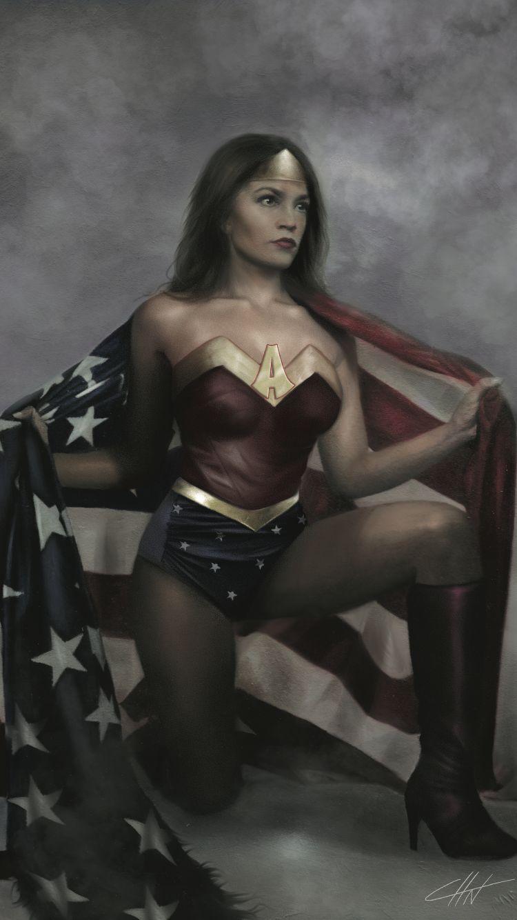 Alexandria Ocasio Cortez is Wonder Woman