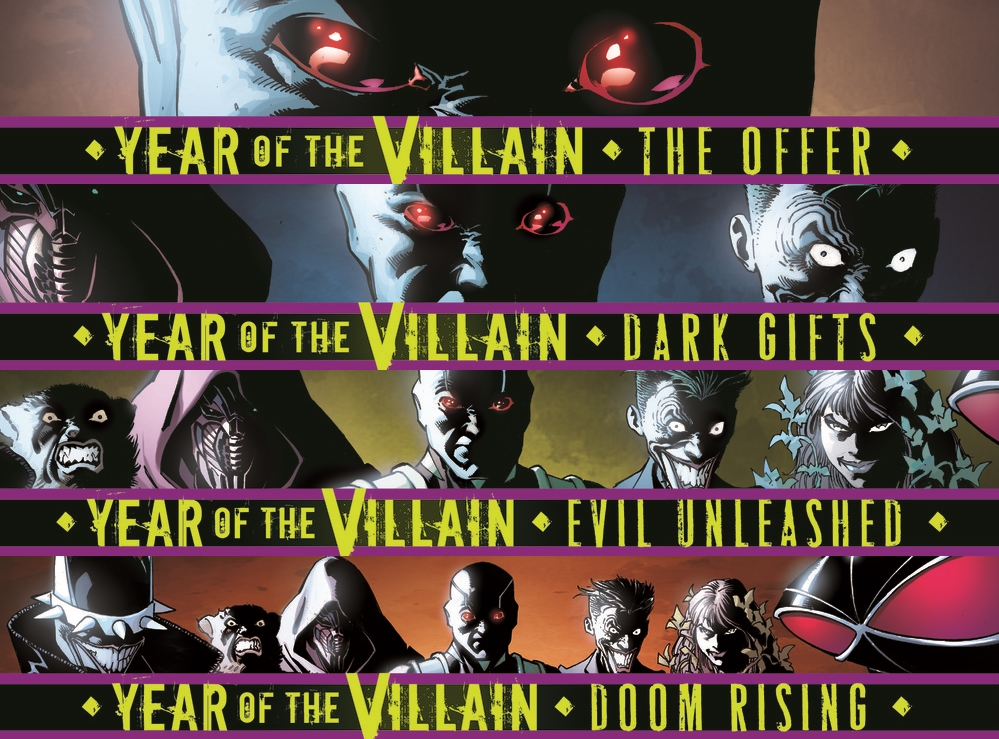 Which Titles Tie-In With DC's Year Of The Villain and How? Revealed… (Spoilers)