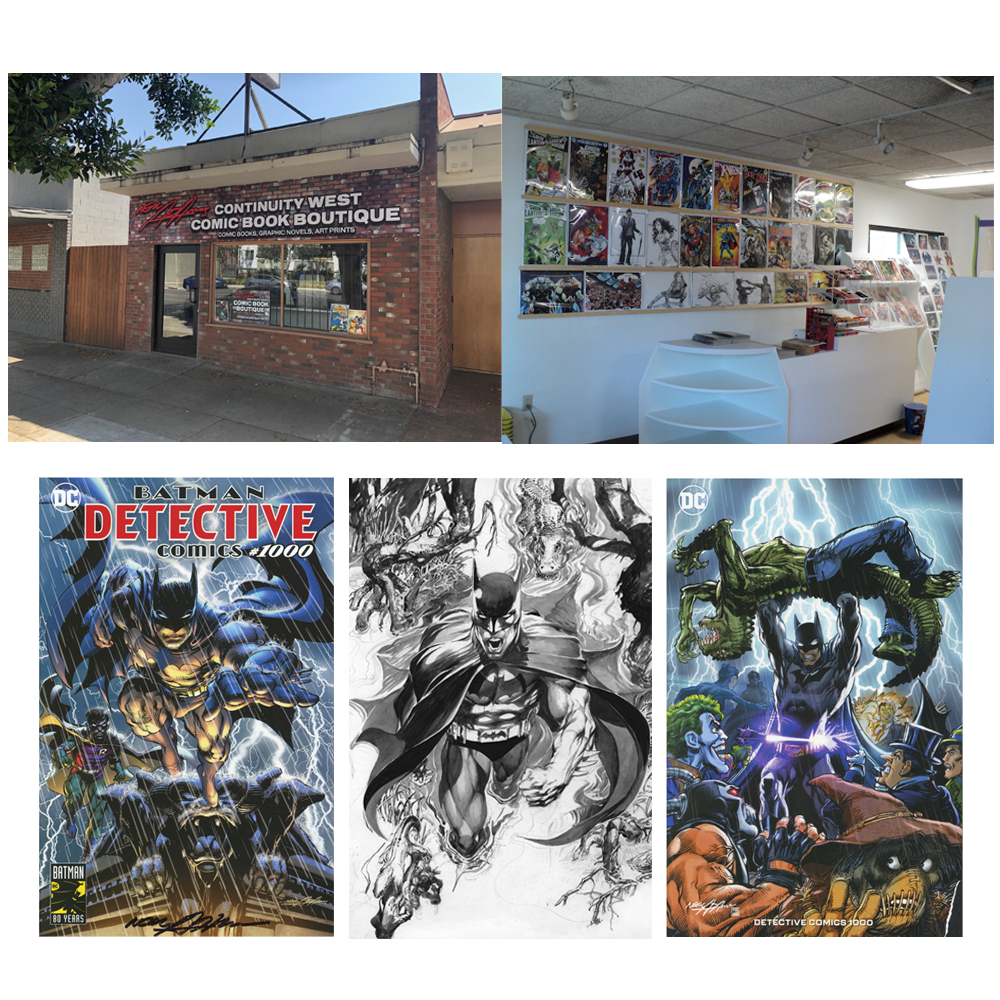 Neal Adams Opens His Own Comic Store in Burbank