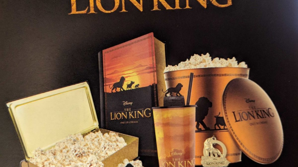 Cinemacon New Looks At Merchandise For Aladdin Lion King
