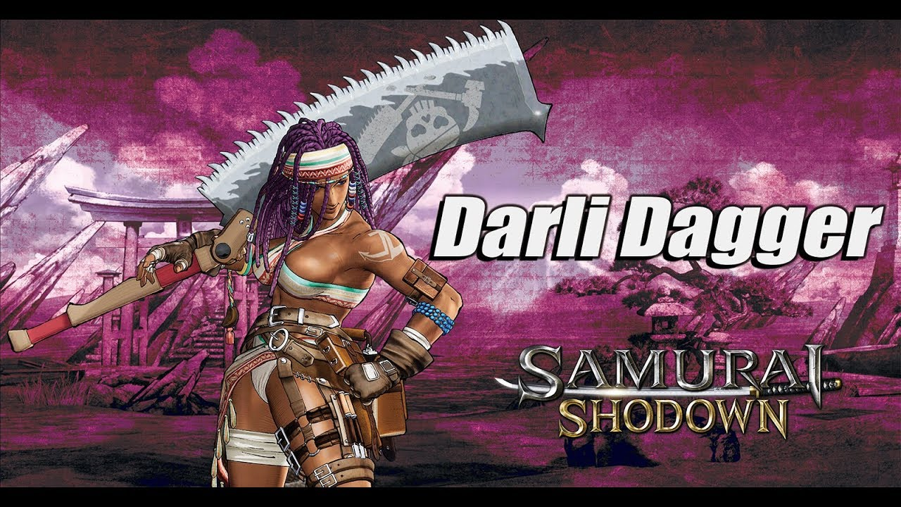 Samurai Shodown Introduces Darli Dagger in Latest Trailer