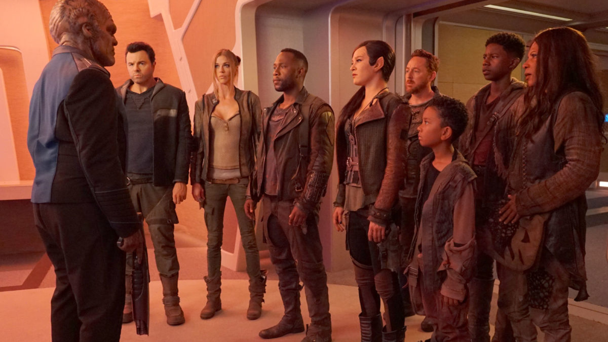 """""""The Orville"""" Crew Brainstorm The Musical Episode That Will Never Be (at NYCC)"""
