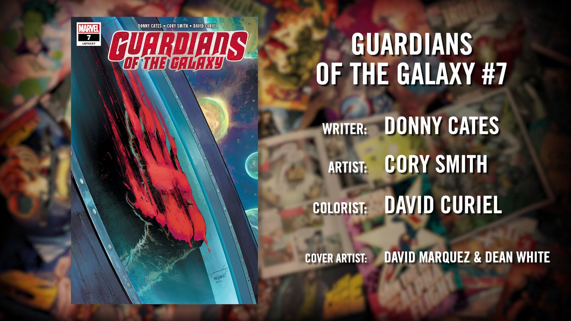 The Death Of Rocket Raccoon in Guardians Of The Galaxy? Donny Cates