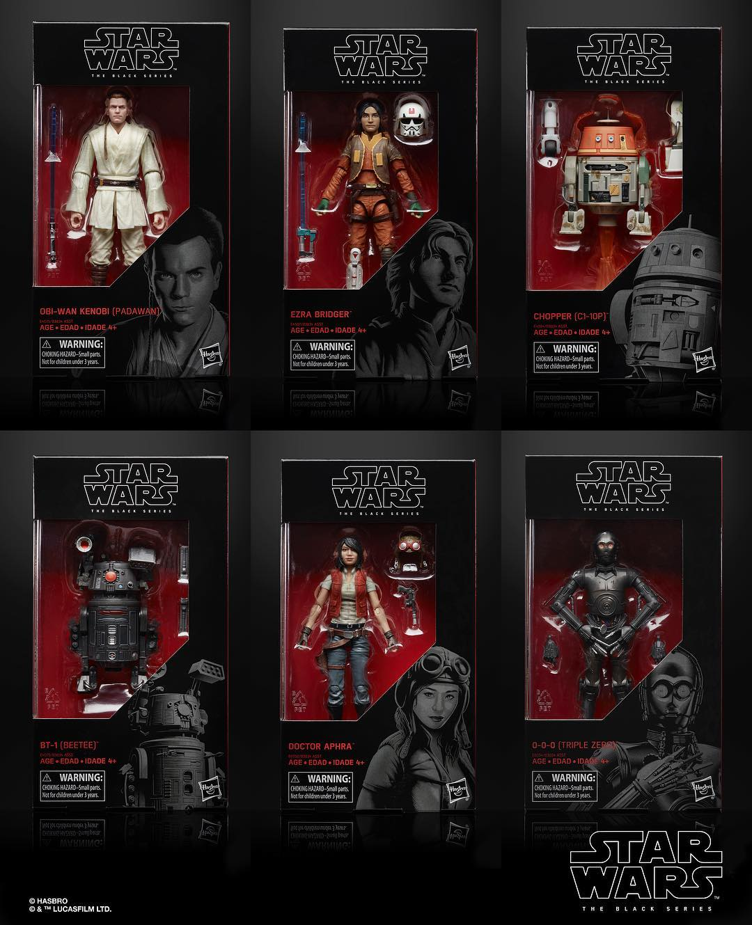 Star Wars Celebration Chicago Hasbro Reveals!