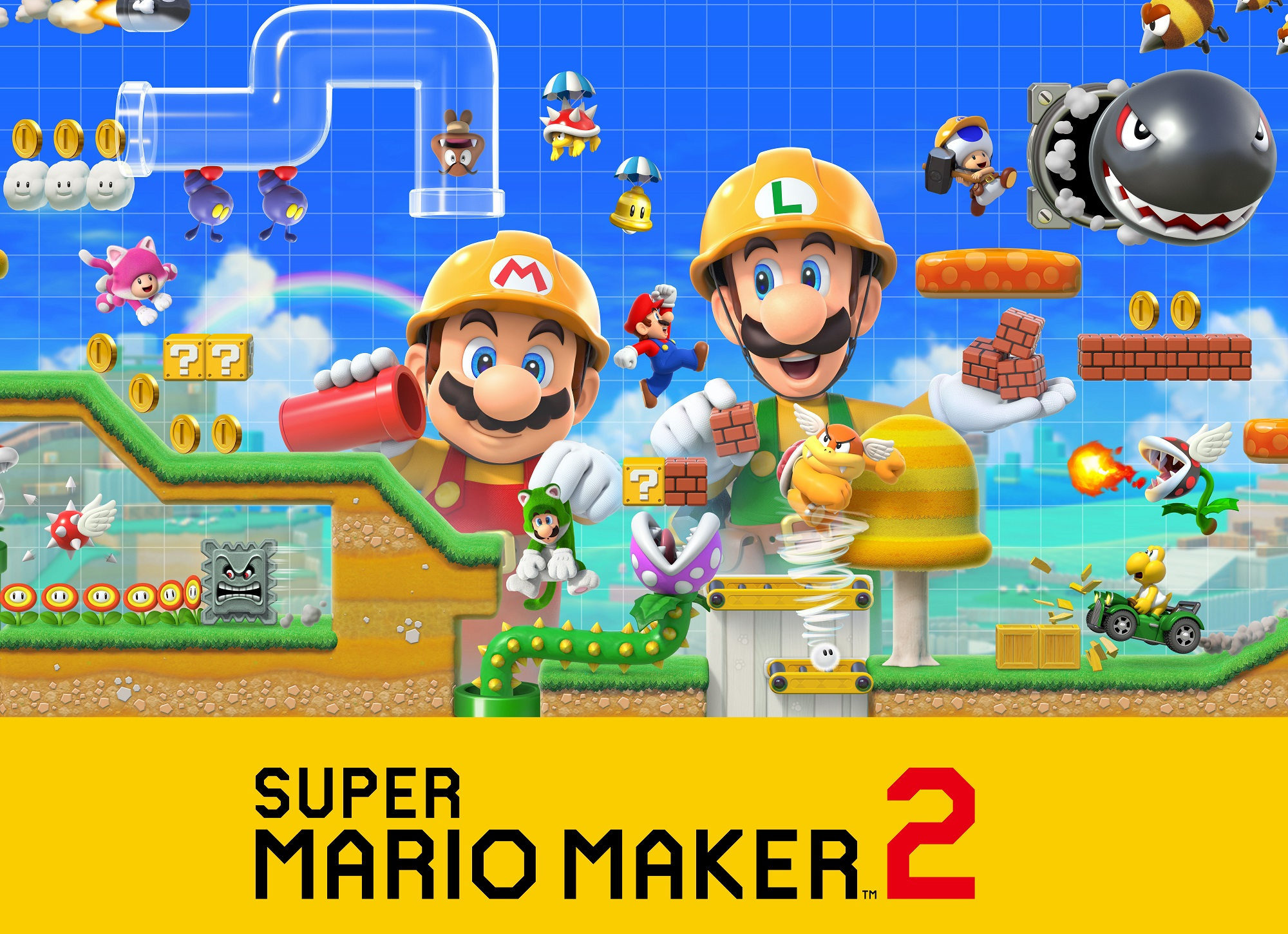 Amiibo's Probably Won't Be Used in Super Mario Maker 2