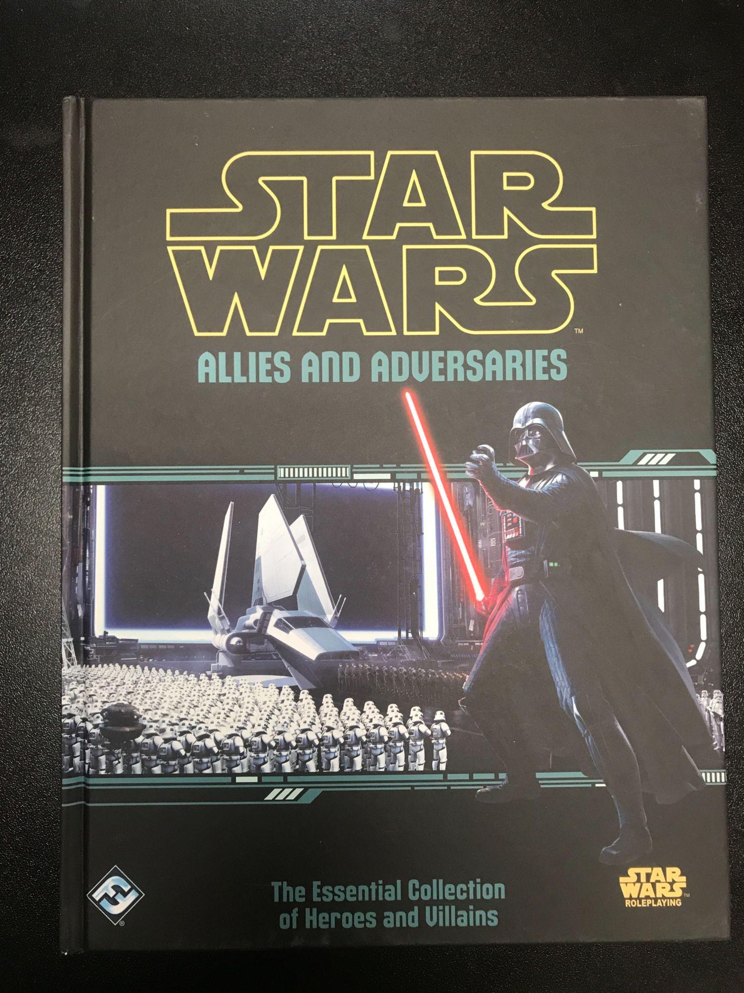 RPG Review: 'Star Wars: Allies and Adversaries' Sourcebook