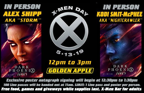 Today Is #XMenDay in Comic Stores Across The World - With Alexandra Shipp, Kodi Smit-McPhee and Chris Claremont