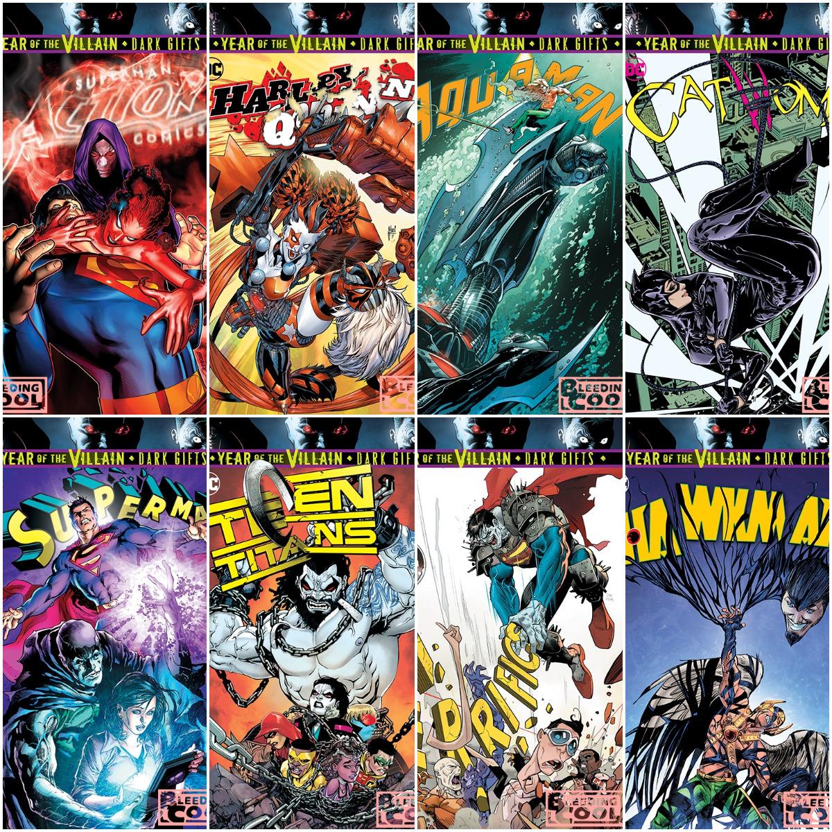 NIGHTWING #63 YOTV DARK GIFTS DC COMICS