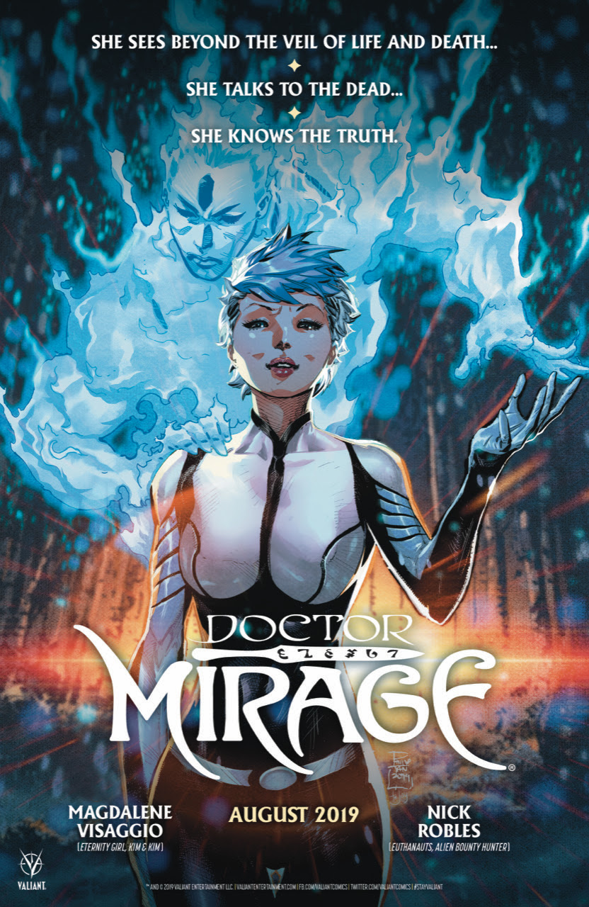 Mags Visaggio, Nick Robles and Jodie Bellaire Relaunch Doctor Mirage From Valiant