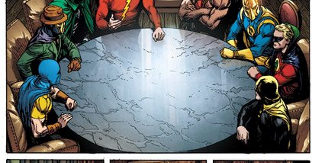 Doomsday Clock 10 And Heroes In Crisis 9 Both Out On Wednesday