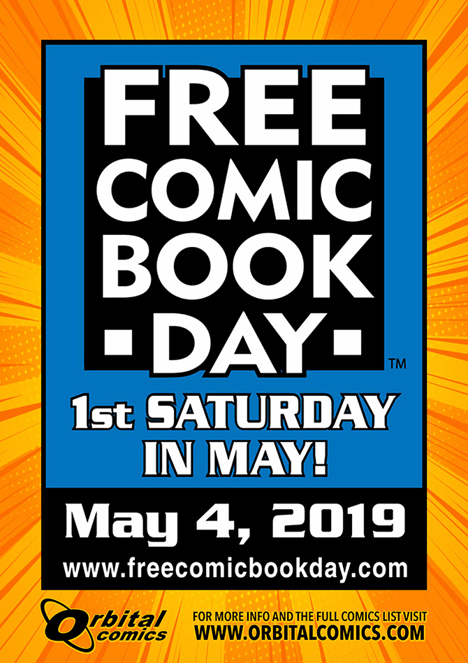 Lying In The Free Comic Book Day Gutters – 4th May 2019