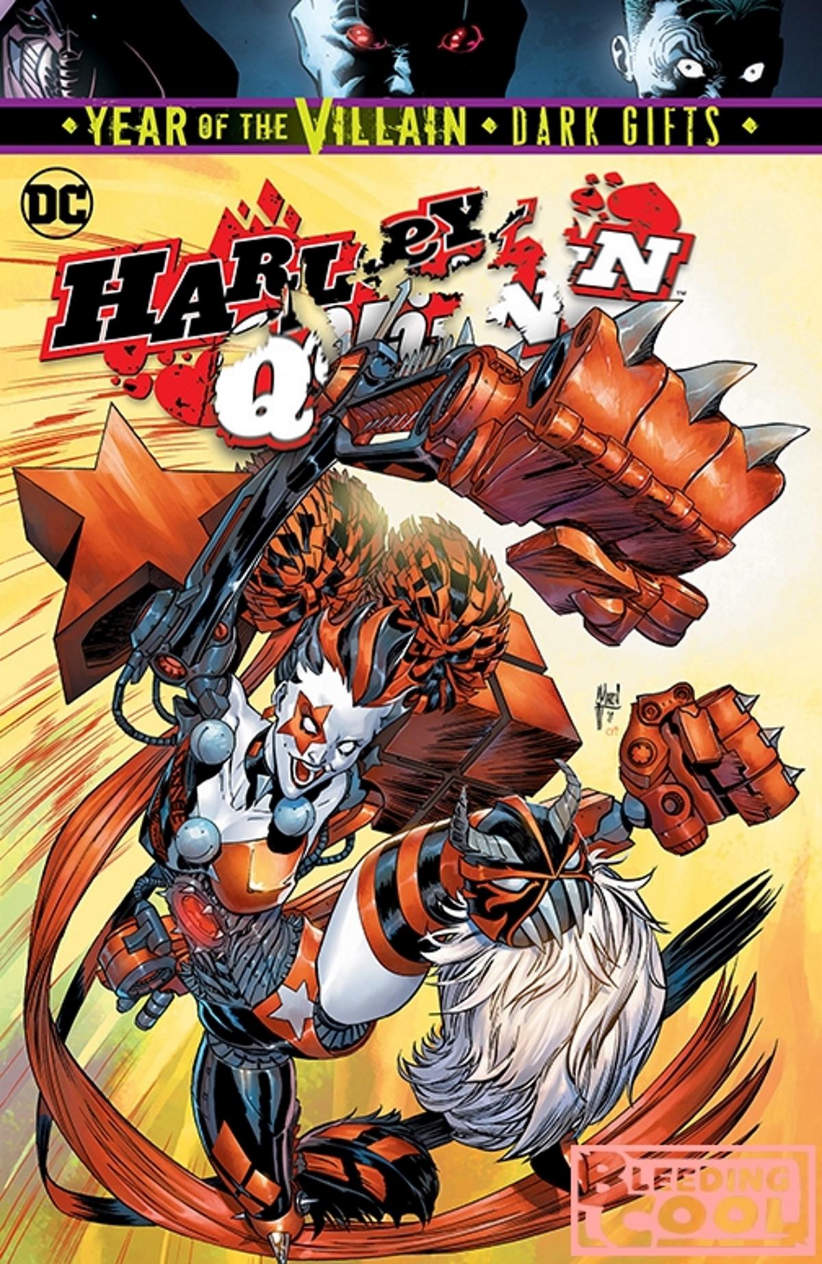 GUILLEM MARCH MAIN COVER HARLEY QUINN #64 DC COMICS//2019