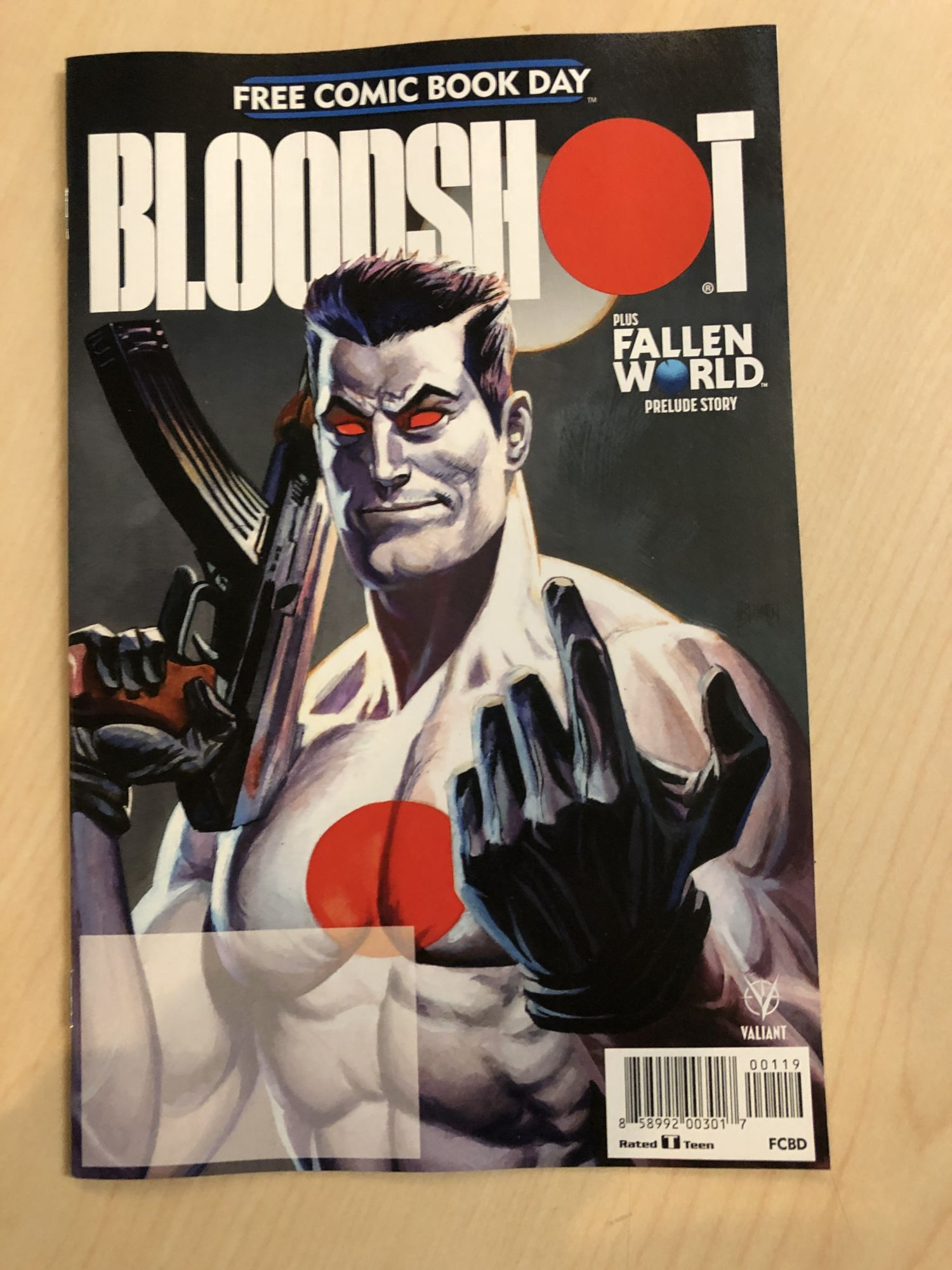 Who Are Bloodshot's New Enemies? Free Comic Book Day Teases But Doesn't Tell All (Spoilers)