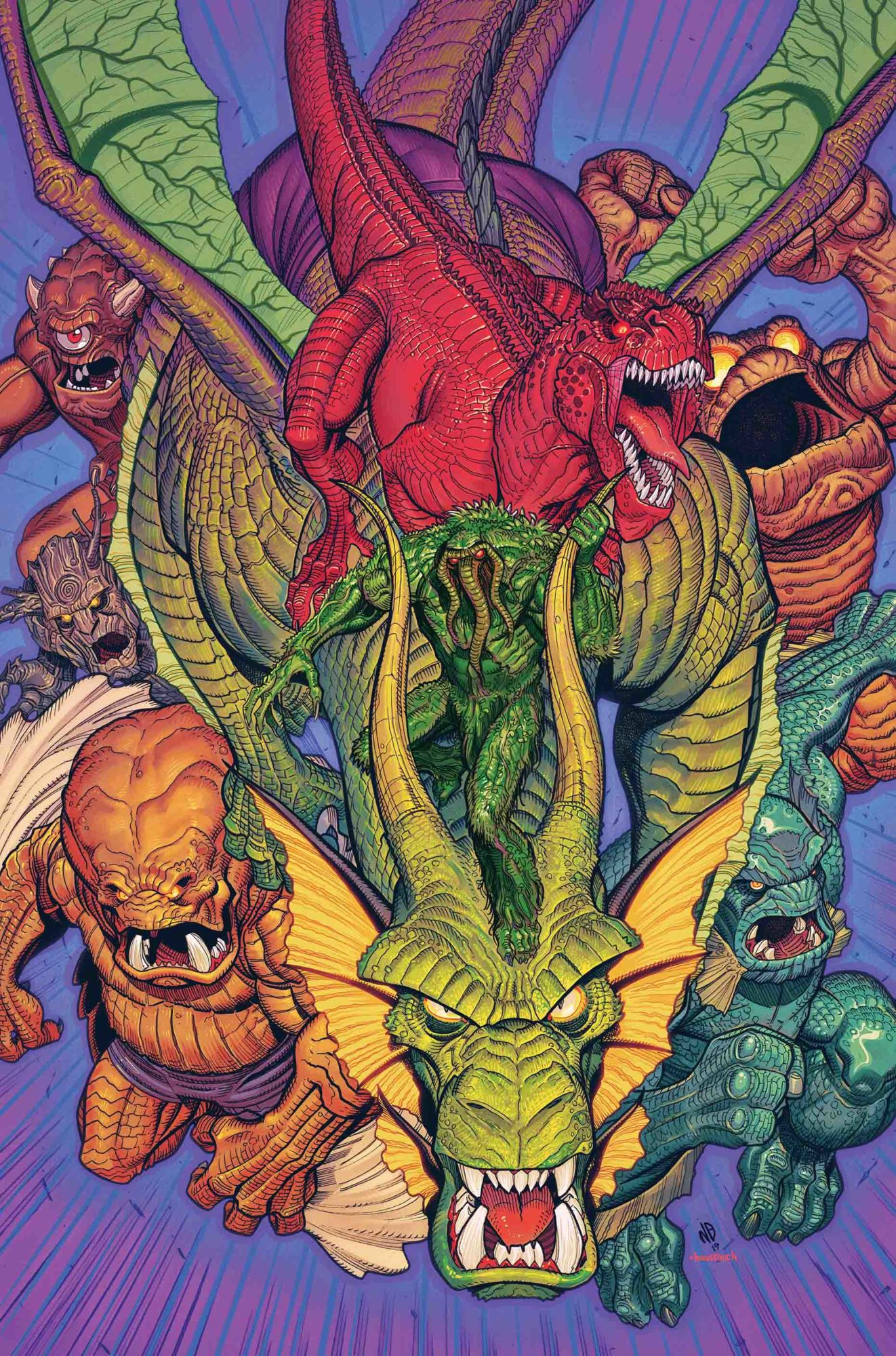 Cullen Bunn Returns to Marvel Monsters – For Trademark Reasons?