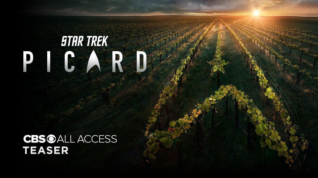Star trek picard official teaser