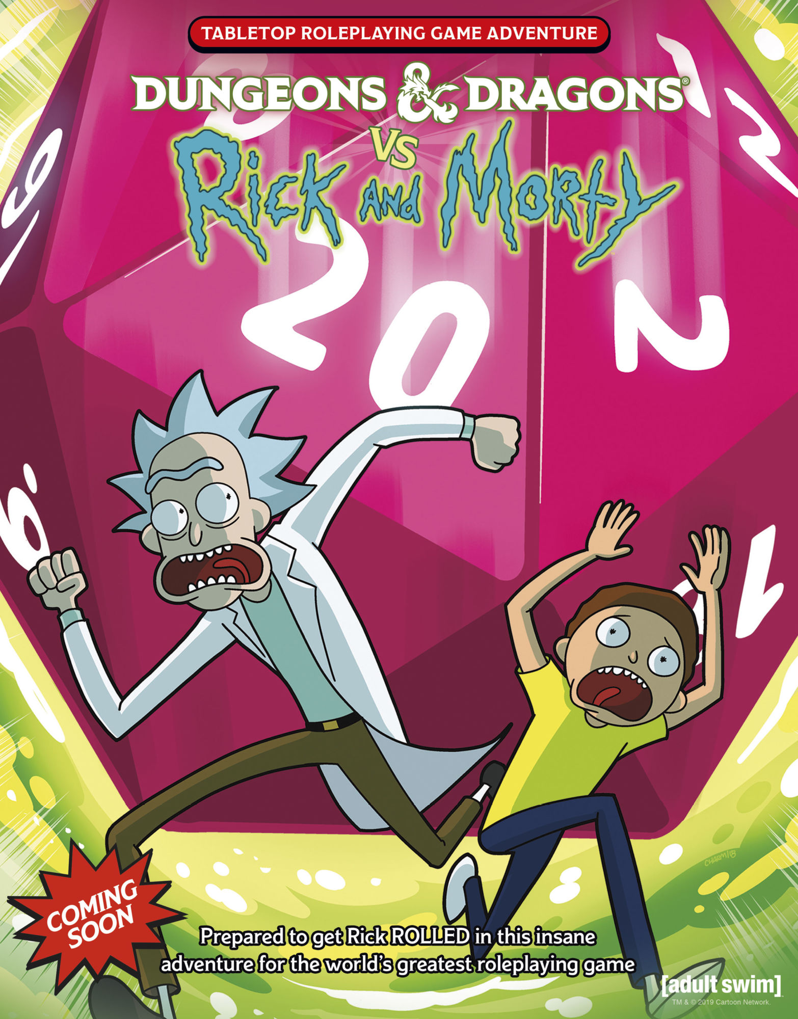Dungeons & Dragons Will Release a Rick And Morty Adventure Module