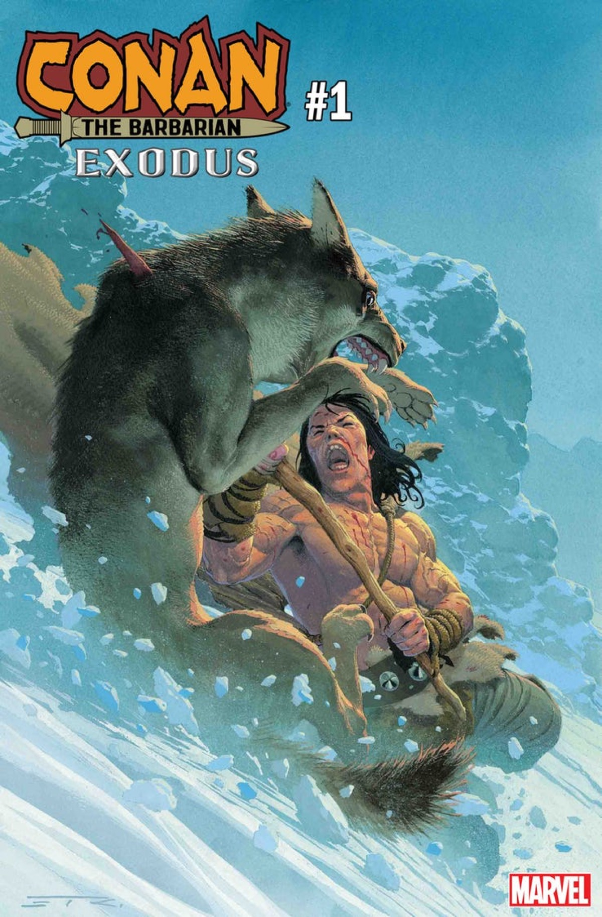 Marvel Reveals Details on Esad Ribic's Conan Year One Comic for August