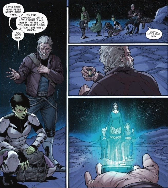 Star-Lord: Not a Great Family Man – Old Man Quill #5 Preview