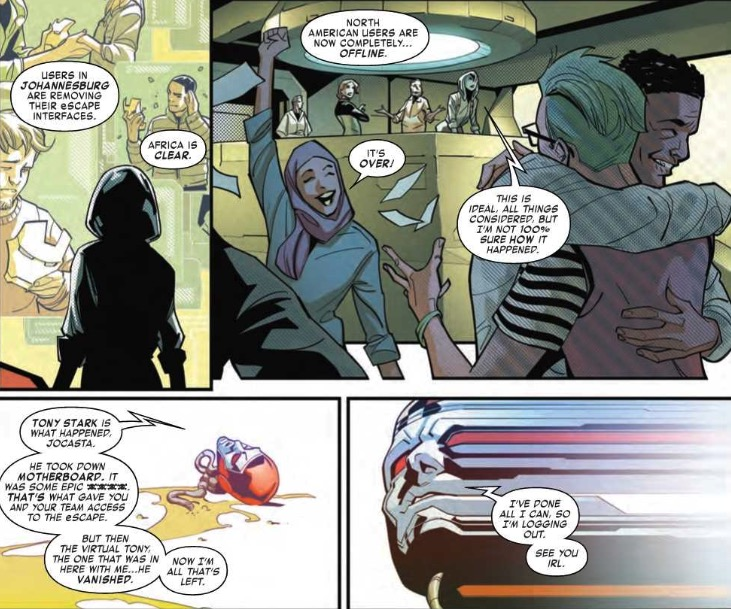 Heroic Choices for Arno Stark in Tony Stark: Iron Man #11 (Preview)