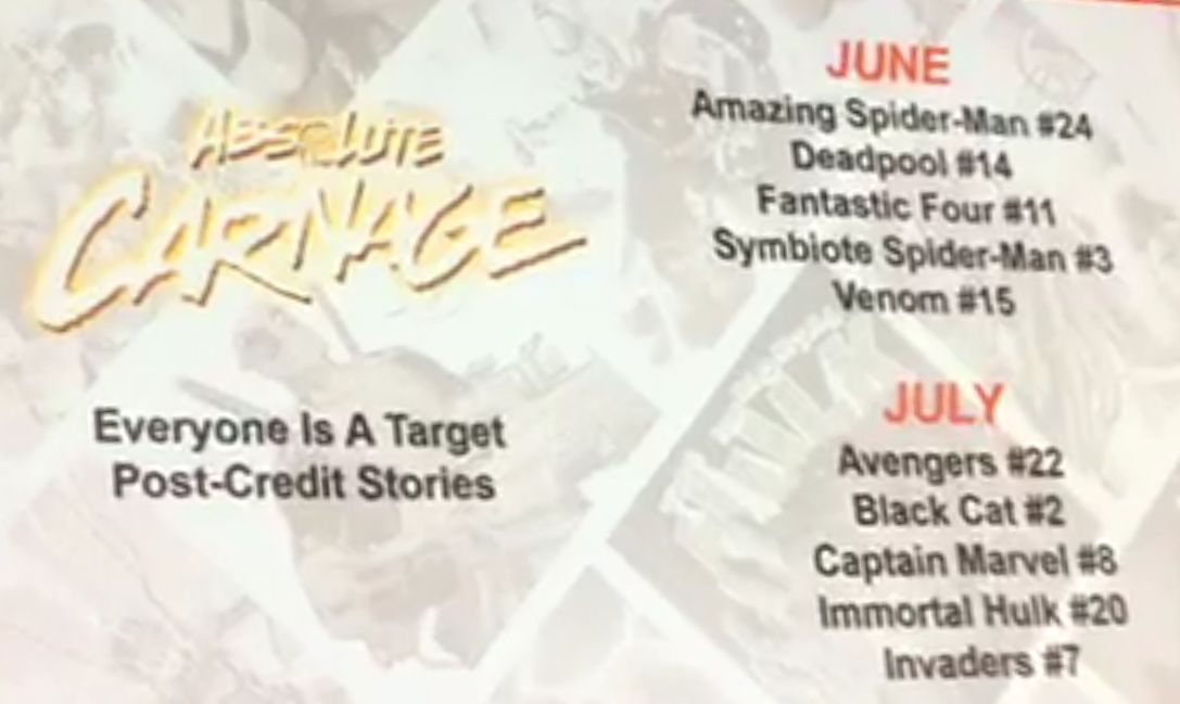 Absolute Carnage Tie-Ins and Tattoos Announced - Deadpool, Scream, Miles Morales, Donny Cates Video