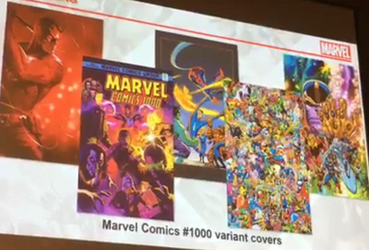 Marvel Comics Video Presentation at Diamond Retail Summit in Vegas