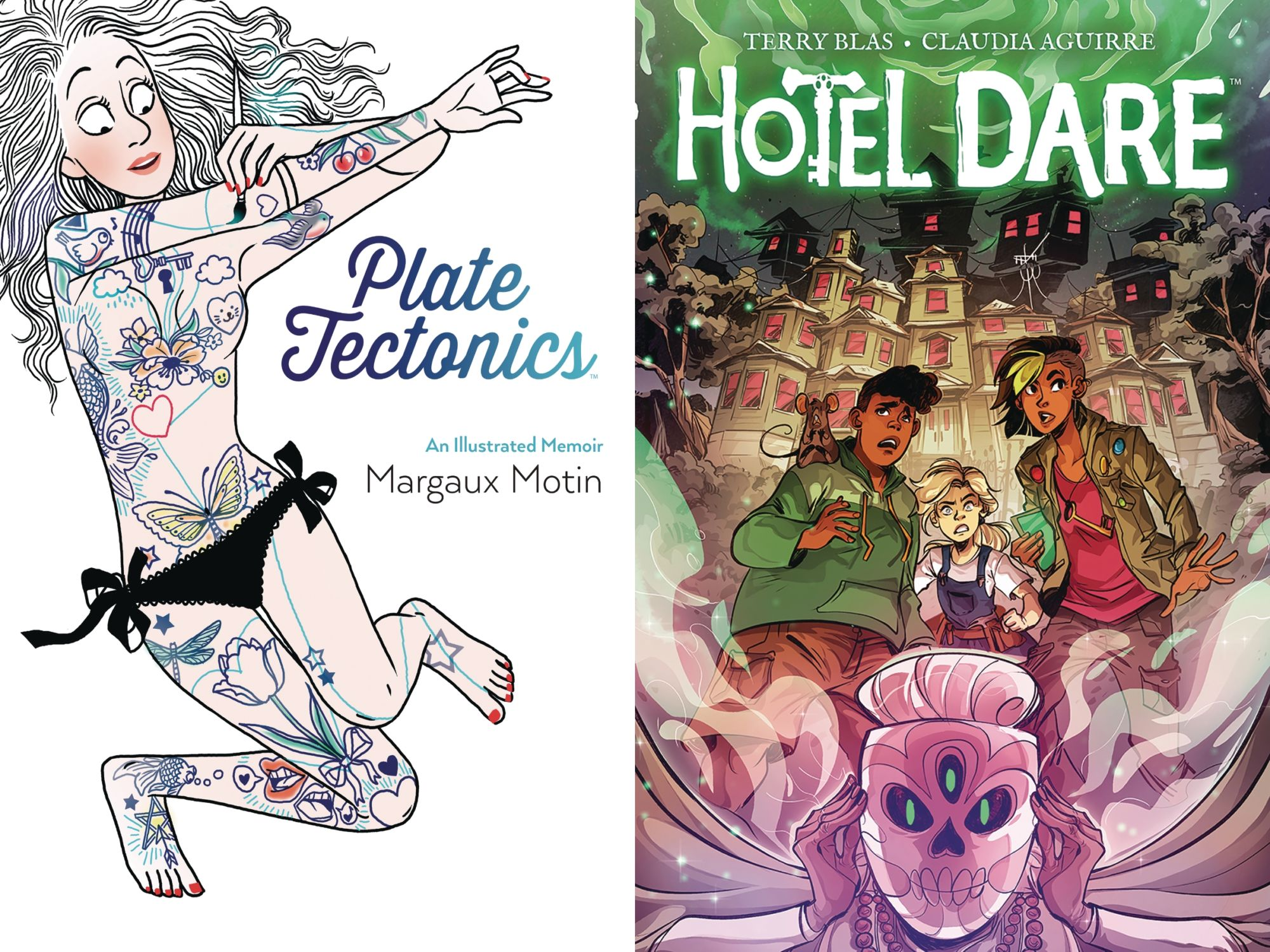 Boom to Make New Original Graphic Novels Returnable – Hotel Dare and Plate Tectonics
