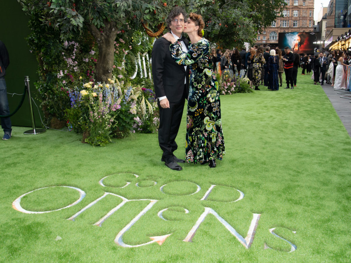 Good Omens': Amanda Palmer - Neil Gaiman, a Bow-Tie and A