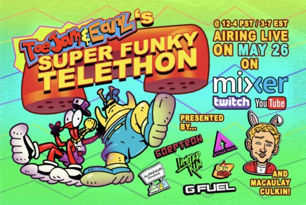 ToeJam & Earl's Super Funky Telethon Happening May 26th on Twitch