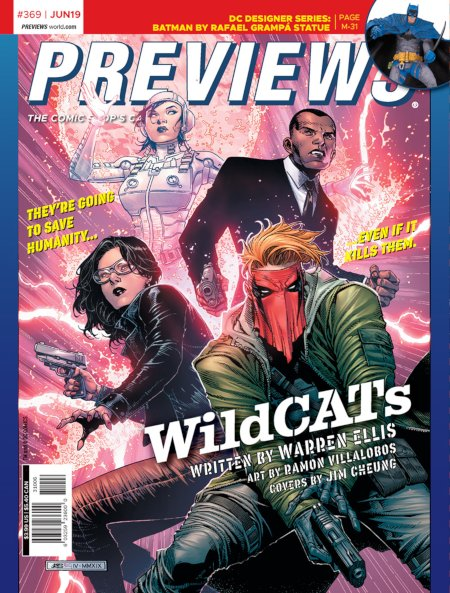 Lemire and Deodato's Beserker and Ellis and Villalobos' Wildcats On Front and Back of Next Week's Diamond Previews