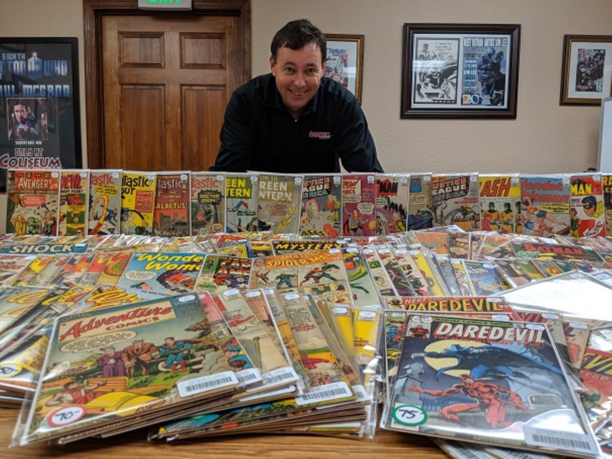 Coliseum of Comics Makes Its Biggest Ever Purchase, The Roy Brown Collection