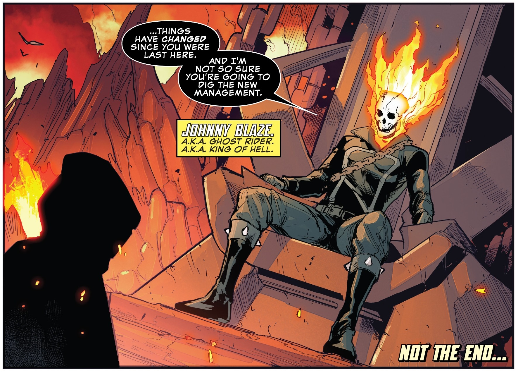 Sinners Beware... Marvel Comics Launches New Johnny Blaze: Ghost Rider Comic in October