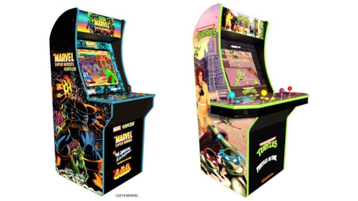 ARCADE1UP releasing xmen: children of the atom and tmnt