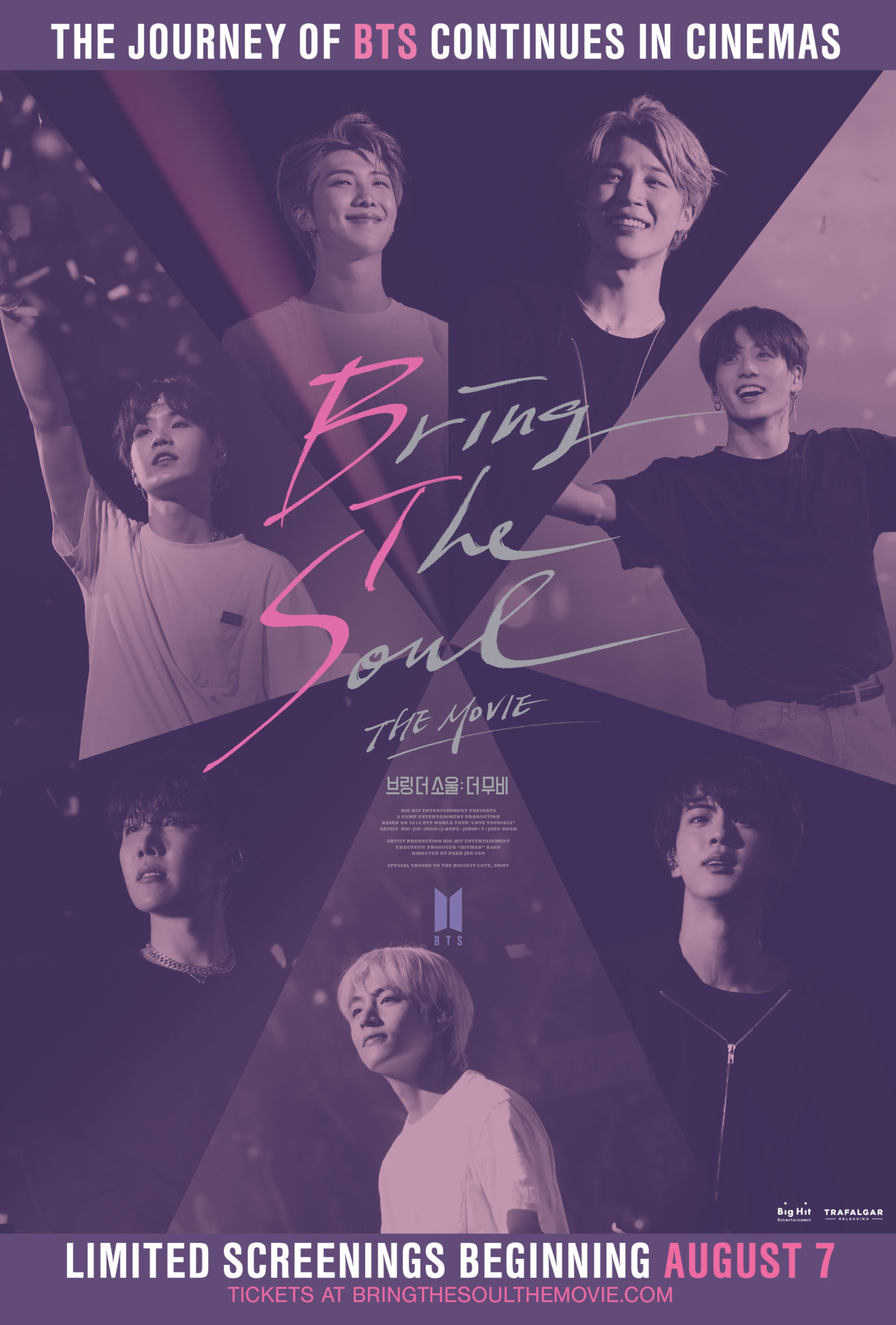 BTS' New Film, Bring The Soul: The Movie Launches Globally on August 7th