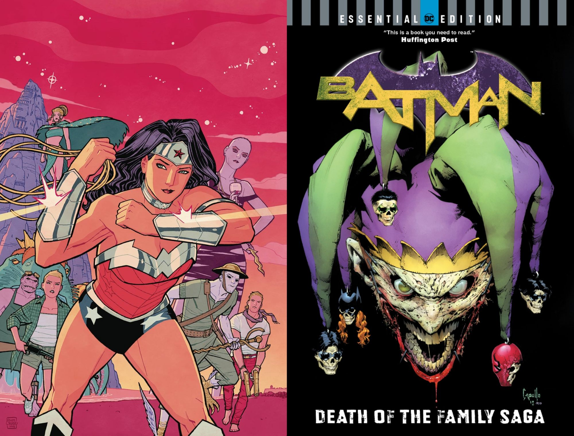 DC Comics Cancelled Collections - Batman: Death of the Family and Wonder Woman: Blood And Guts