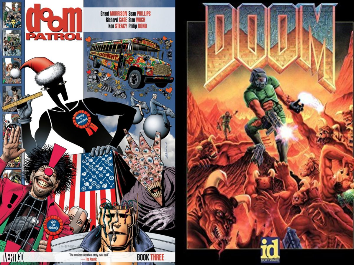 Doom Vs Doom Patrol Dc Comics Vs Id Software Over Trademark