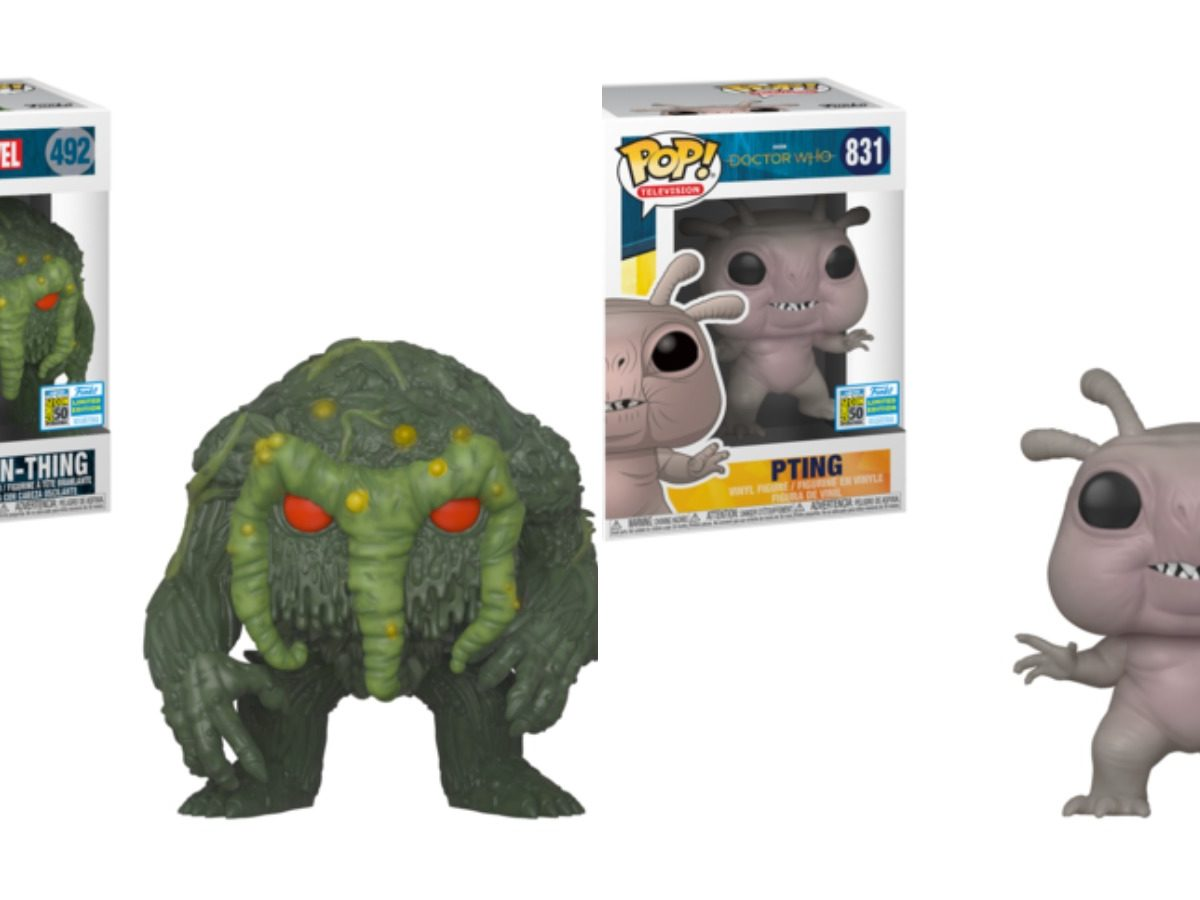 Funko SDCC Exclusives 2019 Round 1: Marvel and TV!