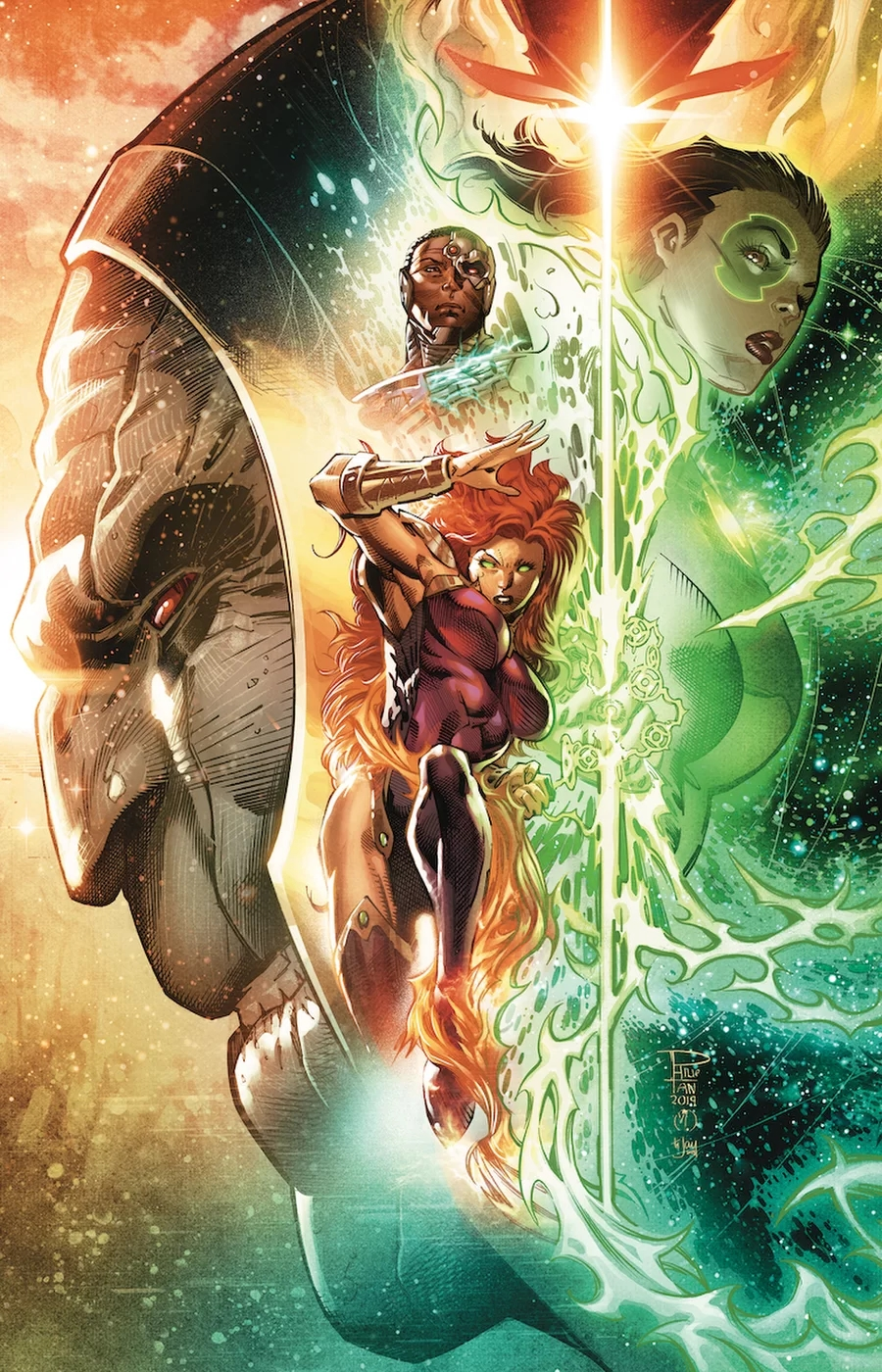 Justice League Odyssey #11 Joins The Year Of The Villain