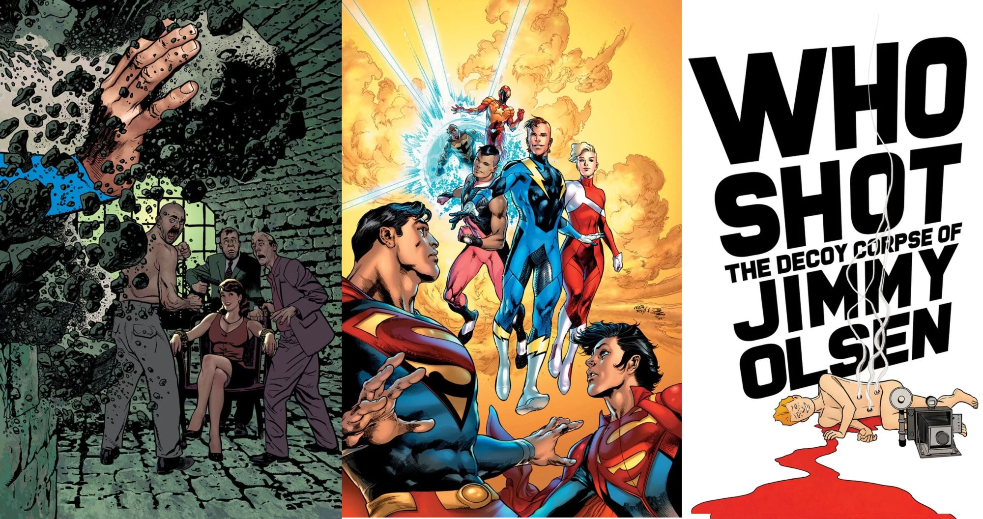 How Do Luthor, Lois and the Legion Tie Together in September?