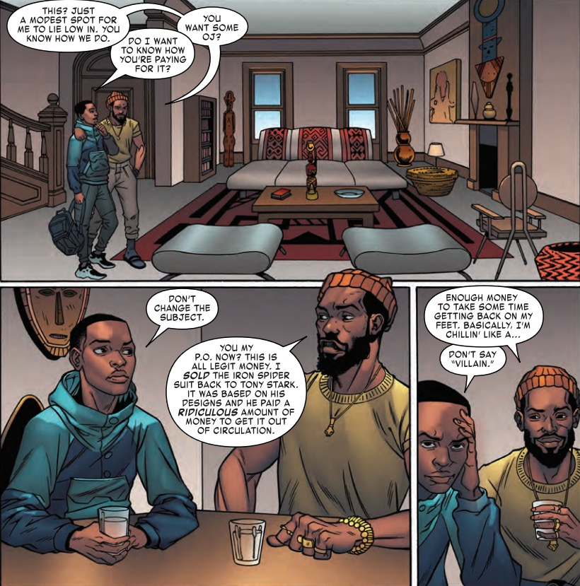 Will Miles Snitch on His Uncle in Miles Morales: Spider-Man #7 (Preview)