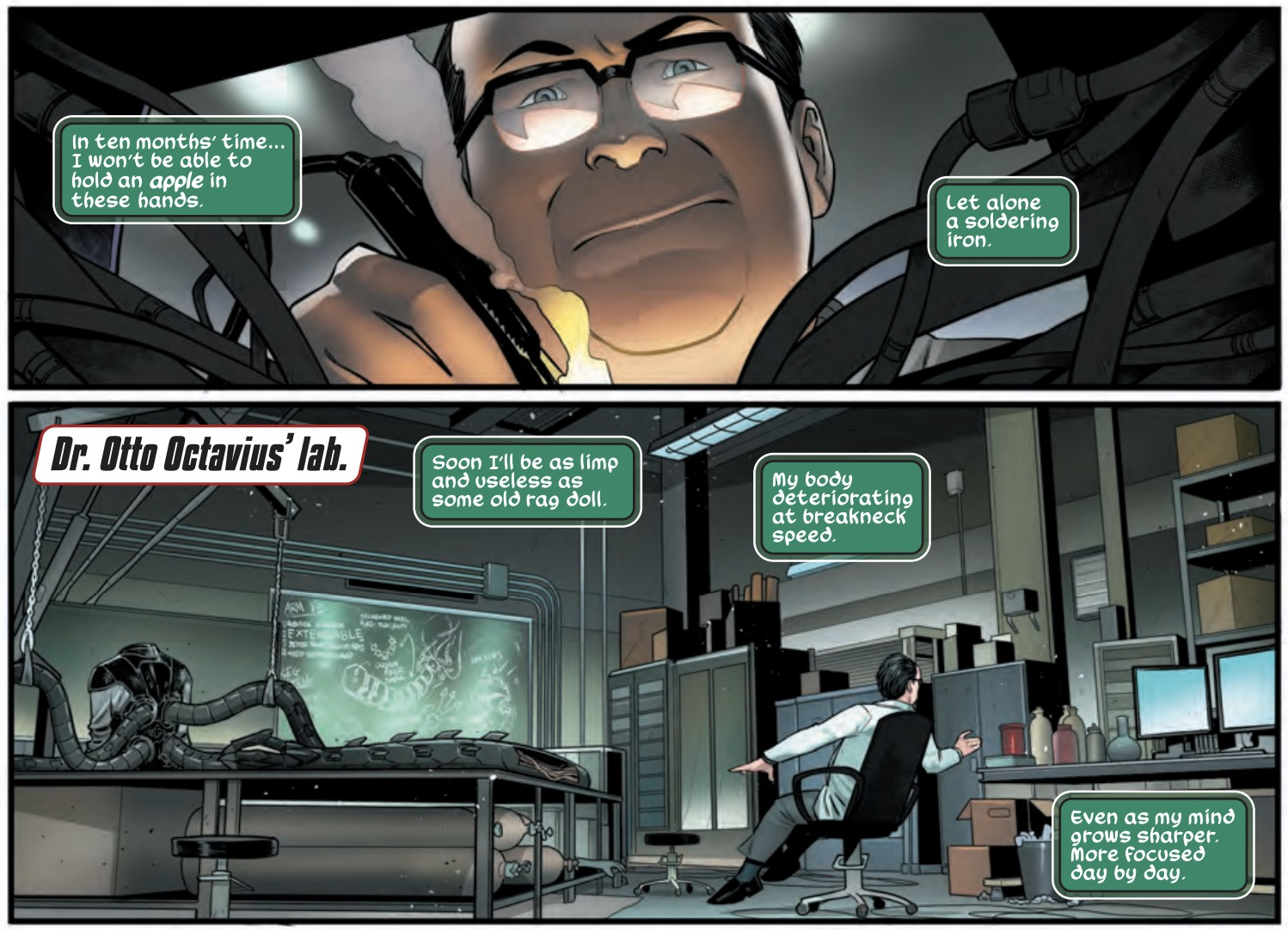 Spider-Man: City at War #4 Preview - Doc Ock Learns to Love Himself
