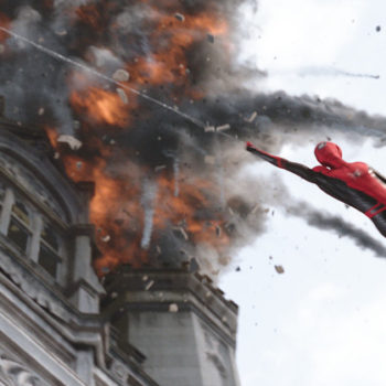 14 New Images from Spider-Man: Far From Home Tease a High Flying Adventure