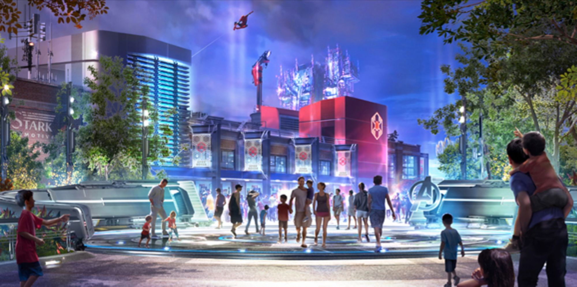 What If... An Entire Marvel Theme Park?