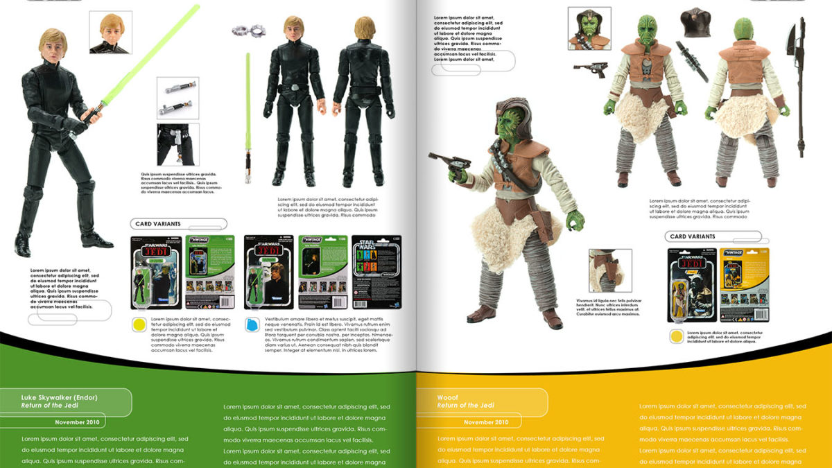 Star Wars Vintage Collection Archive Edition Book Now on